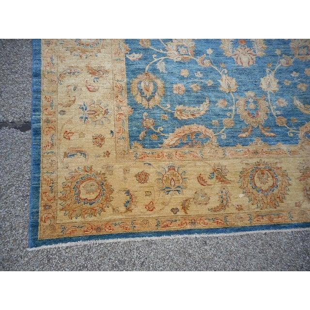 Image of Oushak Design Hand Woven Oriental Rug - 8' X 11'