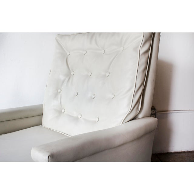 Image of 1970s Tufted Recliner Lounge Chair