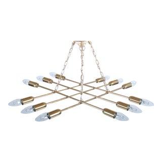 Ceiling lamp made of brass by Rupert Nikoll