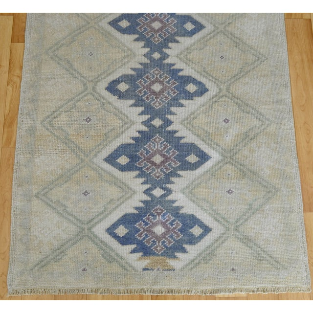 "Hand-Knotted Turkish Rug - 2'8"" x 6'9"" - Image 7 of 9"