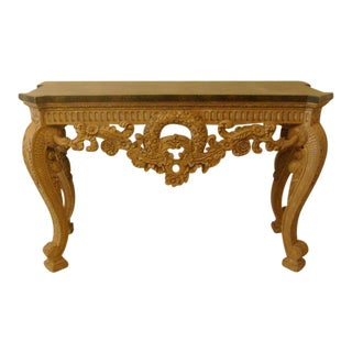Maitland Smith Vintage Console Table