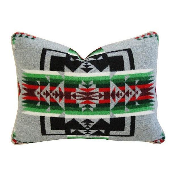 Custom Chief Joseph Pendleton Blanket Pillow - Image 1 of 6