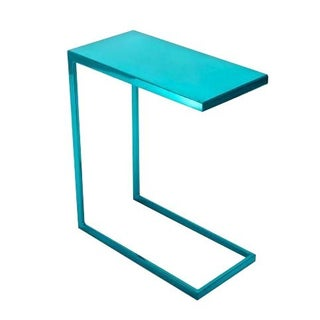 Cromatti Armavi Drinks Table in Turquoise
