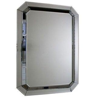Williams Sonoma Art Deco Faceted Octagonal Mirror