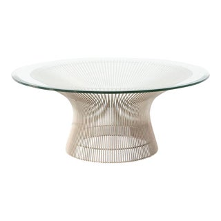 Nickel Platner Coffee Table