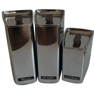 Beauty Ware Streamlined Canisters - Set of 3