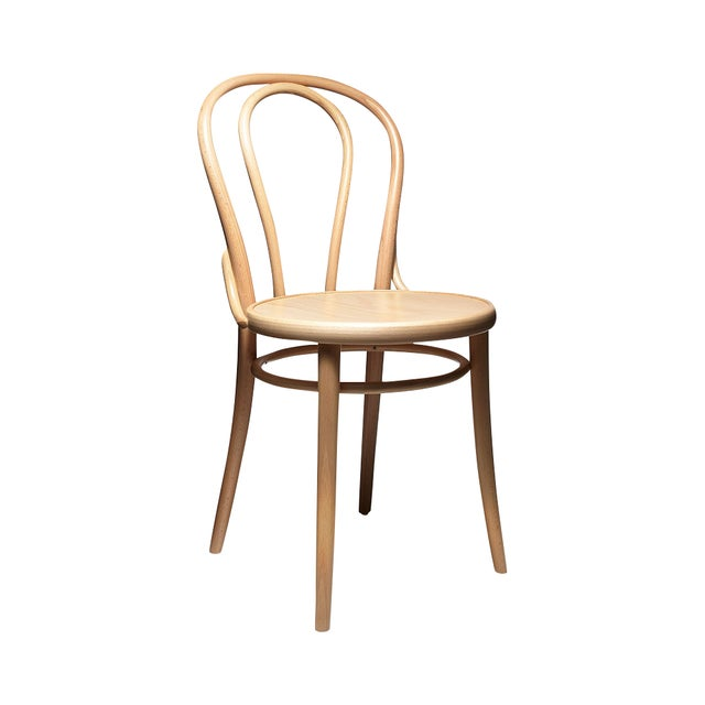 Image of Natural Thonet Chair 18 - a Pair - Retail $300