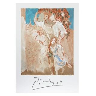 Pablo Picasso - Etude De Personnages Lithograph