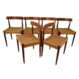 Arne Hovmand Olsen Danish Teak Chairs - Set of 6