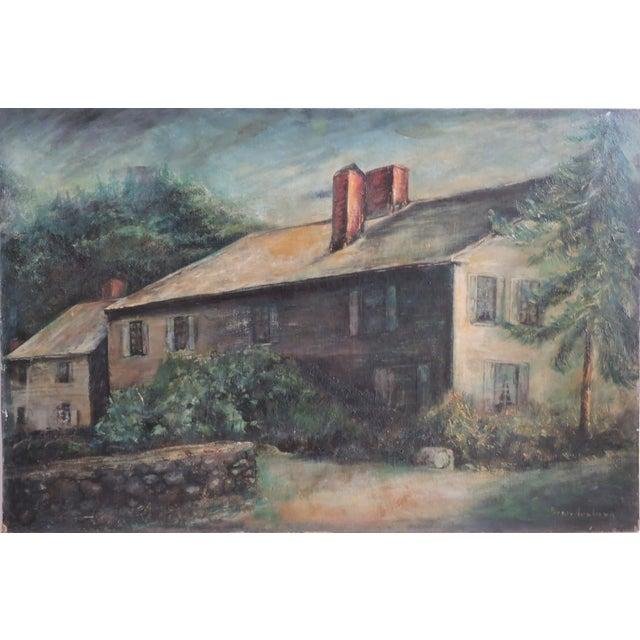 Edith Brandenberg Long Island Painting - Image 1 of 6
