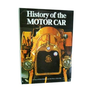 History of the Motor Car Vintage Book