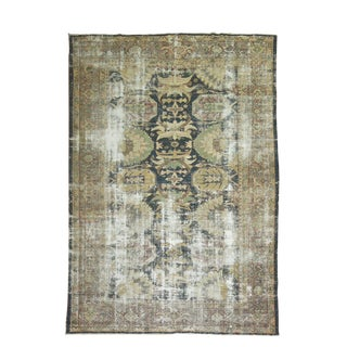 Distressed Persian Sultanabad Rug - 8'7'' x 11'9''