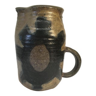 Vintage Hand Crafted Ceramic Pitcher