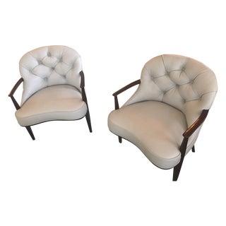 Edward Wormley Dunbar Janus Chairs - Pair