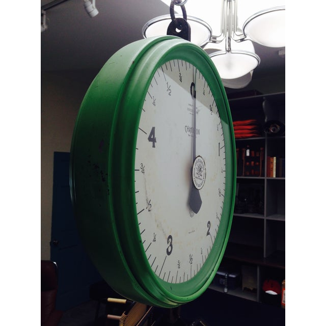 Amazing Vintage Chatillon Green Hanging Scale - Image 3 of 5