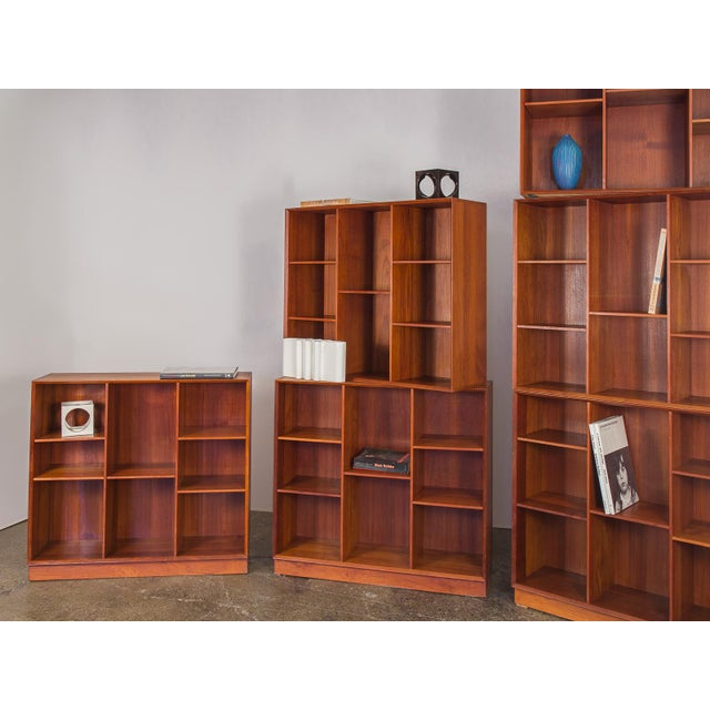 Modular Wall of Stacking Bookcases - Image 6 of 11