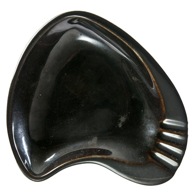 Vintage Rookwood Porcelain Boomerang Ashtray - Image 1 of 3