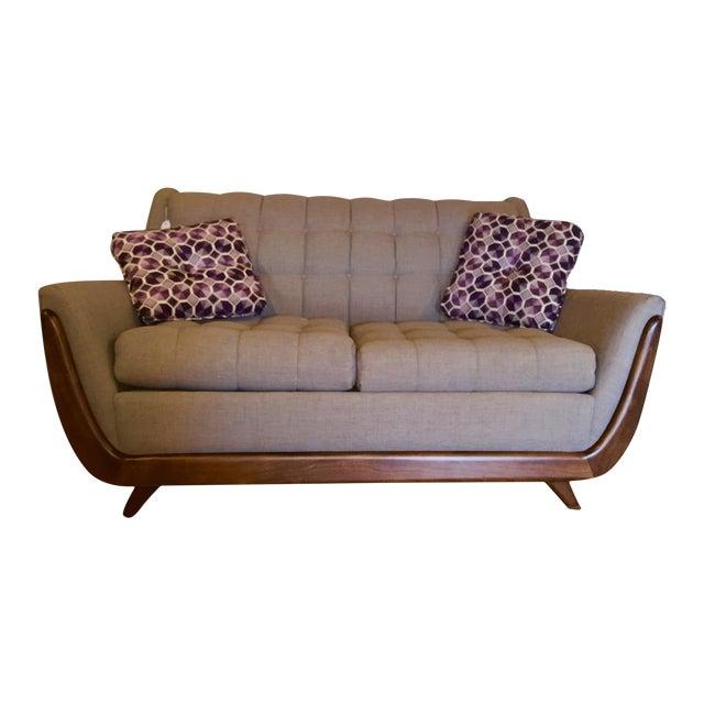 Bassett Mid Century Persall Style Sleeper Sofa - Image 1 of 6