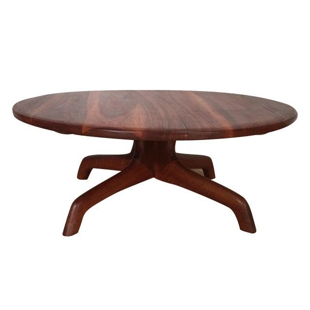 Solid Walnut Coffee Table: Solid Walnut Coffee Table