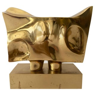 Prince Monyo Bronze Abstract Sculpture