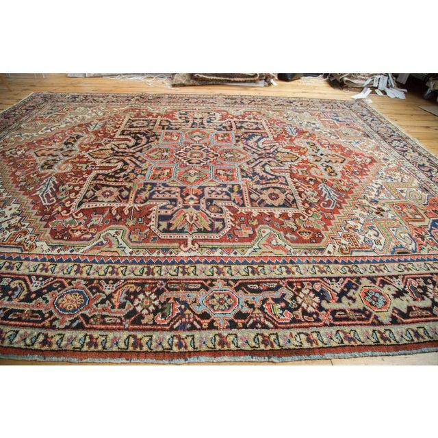 "Traditional Vintage Heriz Carpet - 8'2"" X 10'4"" - Image 10 of 10"
