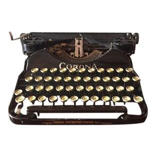 1924 Corona Four Typewriter