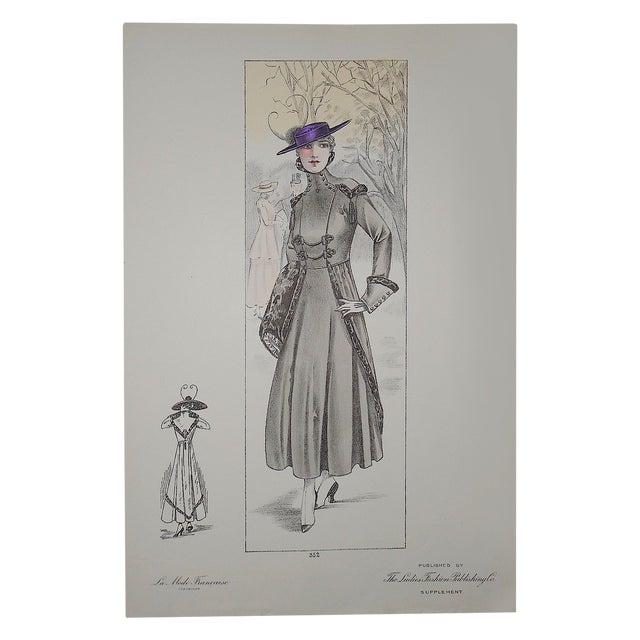 French Fashion Print Folio Size C.1920 - Image 1 of 3