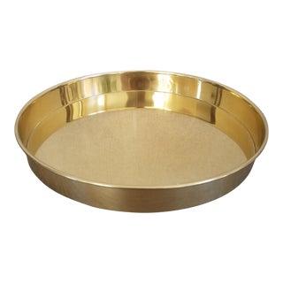 Danish Brass Tray