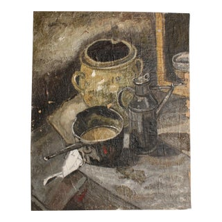 Vintage French Still Life Painting