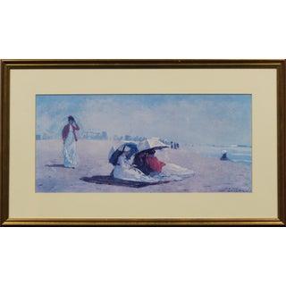 "East Hampton, LI C 1874 Beach Scene by Winslow Homer Fine Art Poster"""