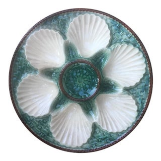 French Glazed Oyster Plate