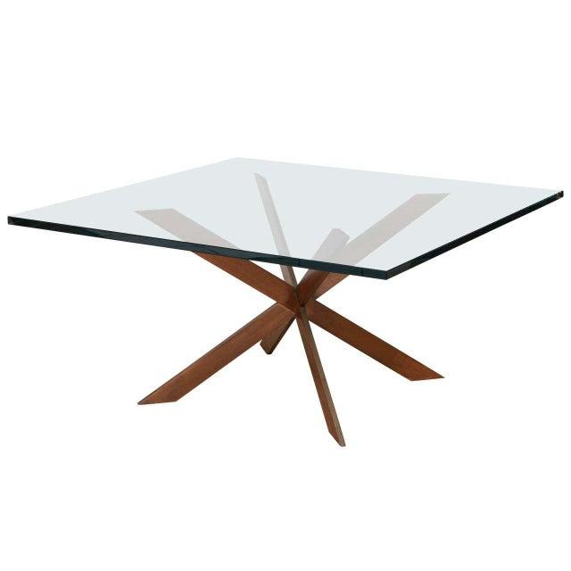 Double Cross Copper Coffee Table Chairish