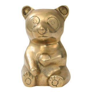 Brass Teddy Bear