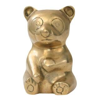 Brass Teddy Bear