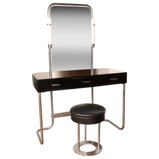 Art Deco Vanity with Stool