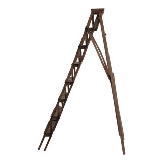 Vintage French A-Frame Ladder