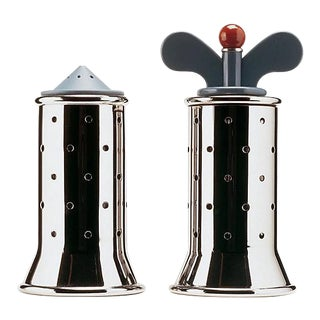 Graves for Alessi Pepper and Salt Grinder - Pair