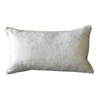 Gold Shimmer Lumbar Pillow