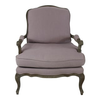 Lavender French Style Armchair