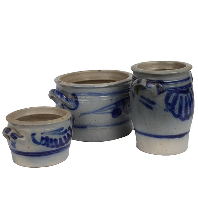 Danish Salt Glaze Pottery - Set of 3 - Image 2 of 2