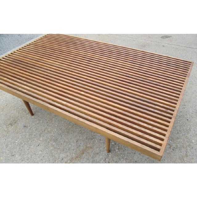 Image of Georges Nelson Style Mid-Century Coffee Table