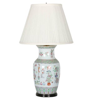 20th Century Chinese Porcelain Lamp