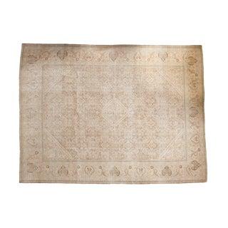"Vintage Distressed Mahal Carpet - 10'3"" x 13'8"""