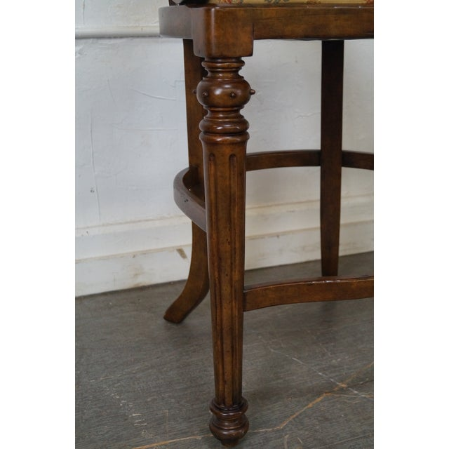 Minton Spidell Empire Style Burgess Barstools - Set of 3 - Image 10 of 10
