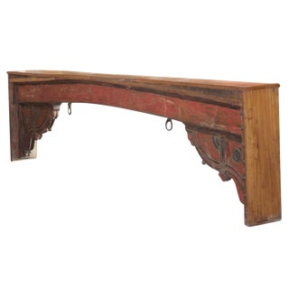 Red Beam Console Table
