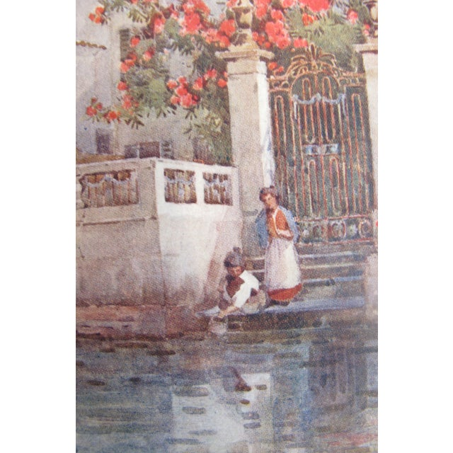 1905 Ella du Cane Print, Villa Garden, Lago D'Orta - Image 3 of 5