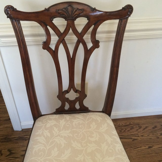 Image of Random Harvest Cherry Ribbon Back Side Chair