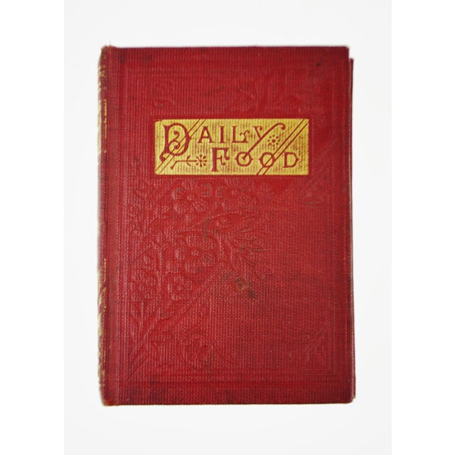 1800's Daily Food for Christians Daily Devotional Book - Image 2 of 10