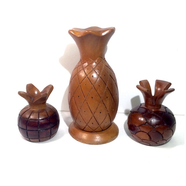 Collected Carved Pineapples- Set of 3 - Image 2 of 6