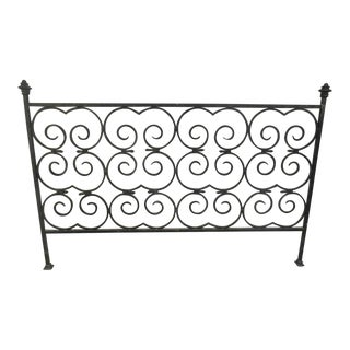 Custom Built Wrought Iron King Size Bed